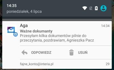 powiadomienie /INTERIA.PL