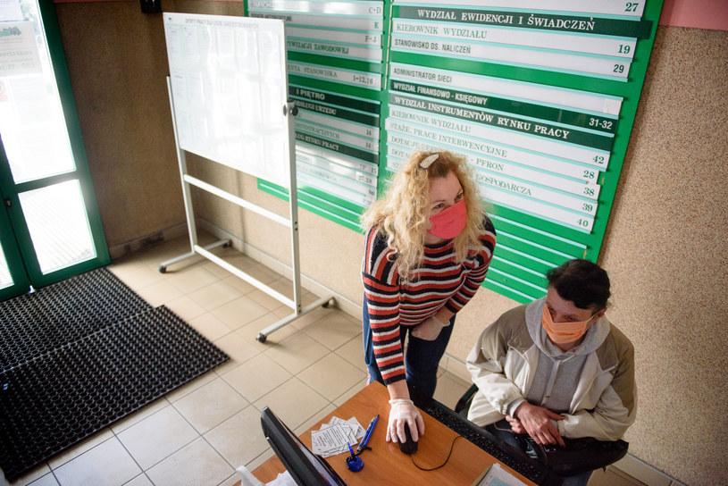 Powiatowy Urząd Pracy dla Torunia. Rejestracja bezrobotnych /Jacek Smarz/Polska Press /East News