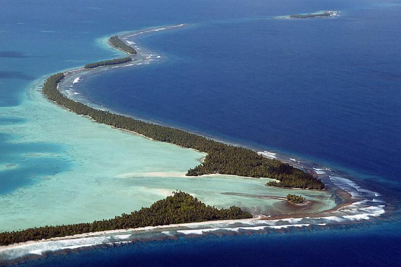 Powierzchnia archipelagu Tuvalu powiększyła się o 2,9 proc. /AFP