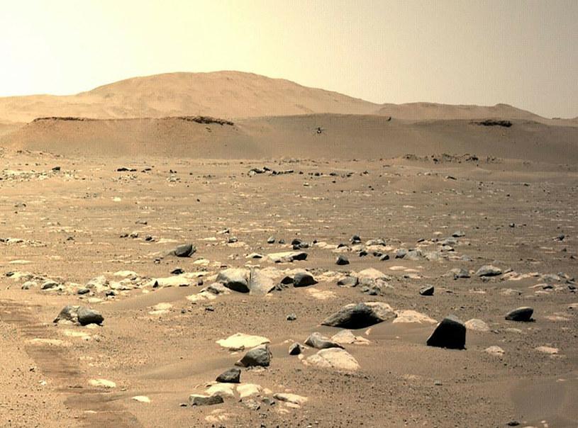 Powierzchnia Marsa, zdj. ilustracyjne /HANDOUT/AFP/East News /East News