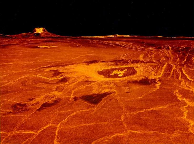Powierzchnia Wenus to prawdziwe piekło /NASA