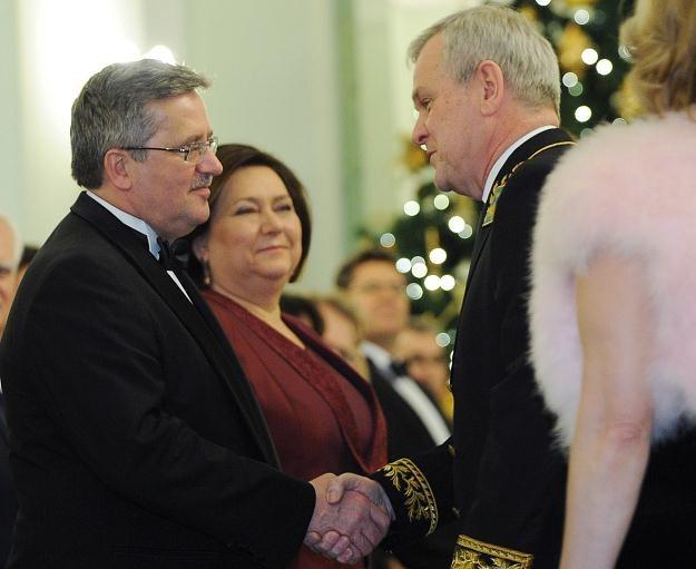 Powitanie ambasadora Federacji Rosyjskiej Aleksandra Aleksiejewa, fot. J. Turczyk /PAP