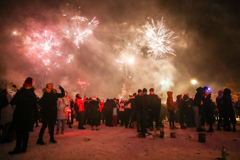 Powitanie nowego roku w Zakopanem, zdjęcie z 2018 roku /Beata Zawrzel/REPORTER /Reporter