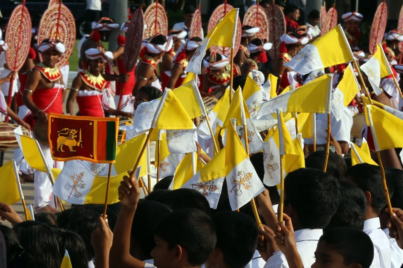 Powitanie papieża /PAP/EPA