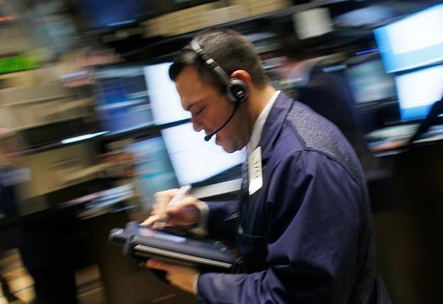 Powodem spadków są obawy inwestorów o kondycję amerykańskiej gospodarki /AFP