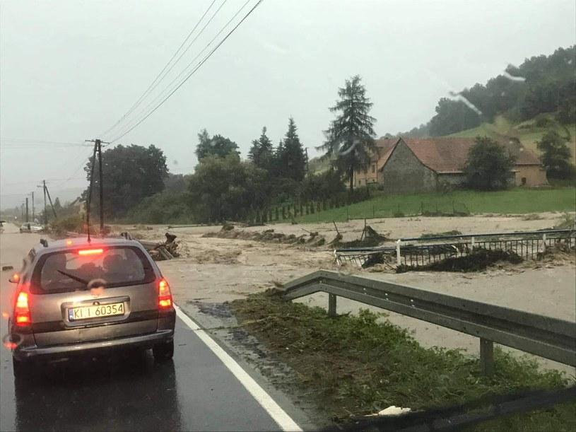 Powódź błyskawiczna w Małopolsce /Patrol998-Małopolska /materiały prasowe