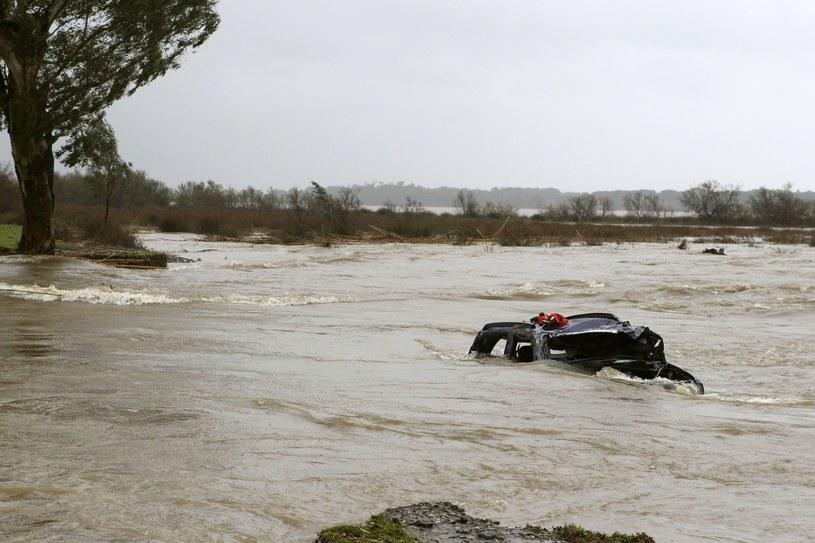 Powódź na Korsyce /AFP