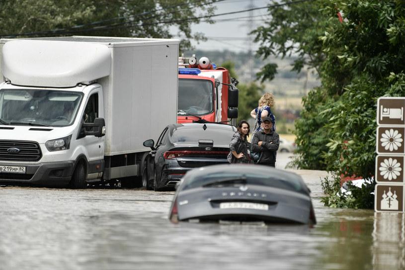 Powódź na Krymie /Konstantin Mihalchevskiy/SPUTNIK Russia /East News