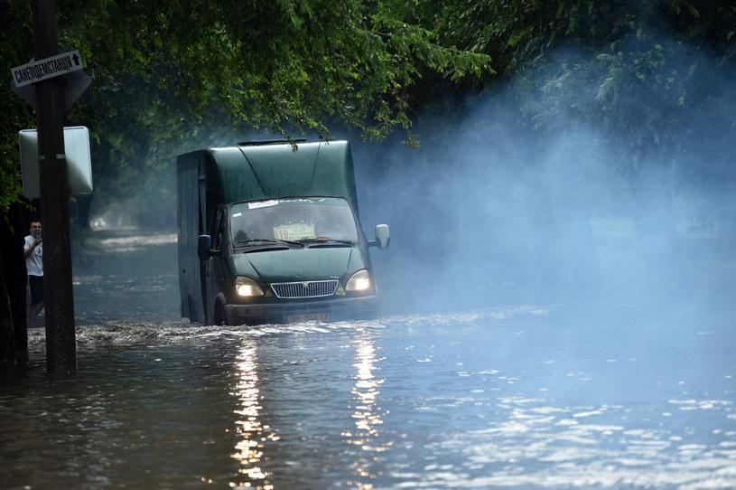 Powódź na Ukrainie /Ukrinform/Oleksii Kovaliov /East News