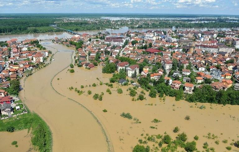 Powódź w Bośni i Hercegowinie /AFP