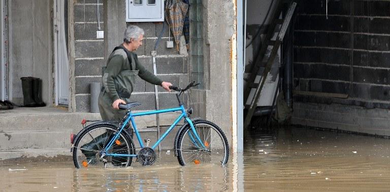 Powódź w Bośni /AFP