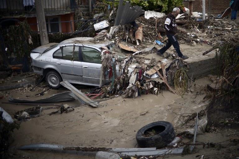 Powódź w Bułgarii /AFP