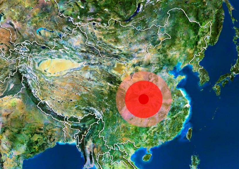 Powódź w Chinach uchodzi za prawdopodobnie największy kataklizm w dziejach ludzkości /Planet Observer/UIG /East News