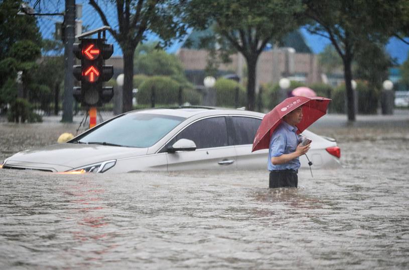 Powódź w Chinach /AFP