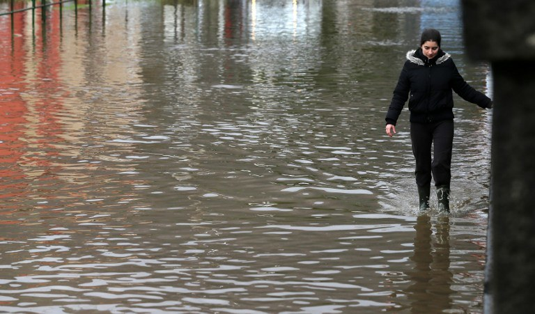 Powódź w Hiszpanii /AFP