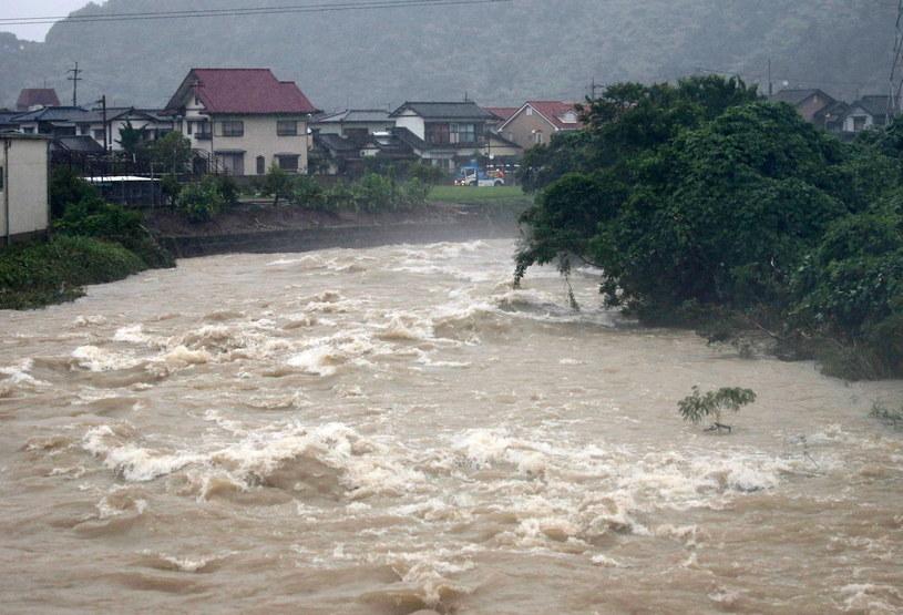 Powódź w Japonii /JIJI PRESS /PAP/EPA