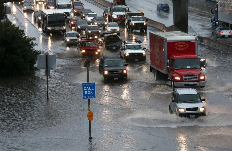 Powódź w Kalifornii, zdj. archiwalne /JUSTIN SULLIVAN / GETTY IMAGES NORTH AMERICA / AFP /AFP