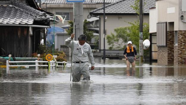 Powódź w Kurume /KIMIMASA MAYAMA /PAP/EPA