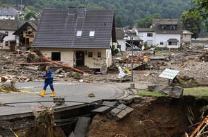 Powódź w Niemczech. W ciągu paru godzin spadło tyle deszczu, ile zwykle w miesiąc