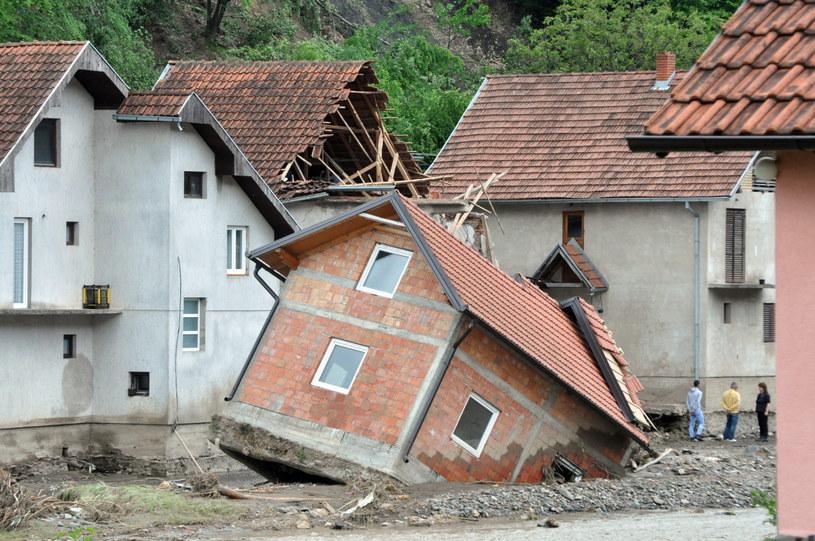 Powódź w Serbii /PAP/EPA