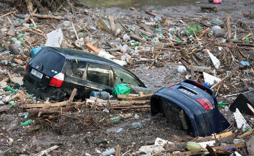 Powódź w Tbilisi /PAP/EPA