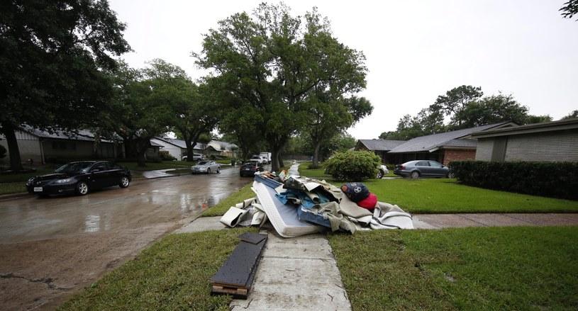 Powódź w USA /PAP/EPA