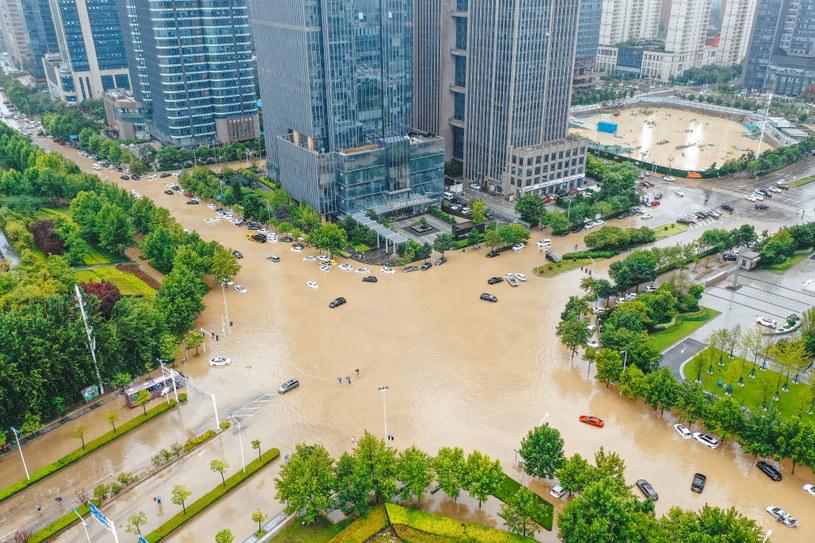 Powódź w Zhengzhou /VCG /Getty Images