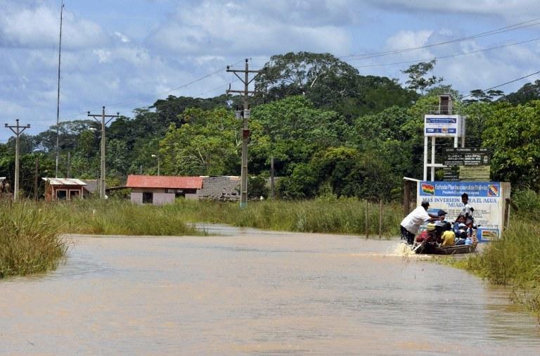 Powódź /AFP
