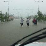 Powodzie na południu Meksyku
