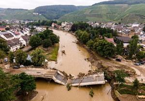 Powodzie w Europie. Ekspertka: Niemcy zostały ostrzeżone