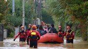 Powodzie w Toskanii, alarm pogodowy w Ligurii i w Rzymie