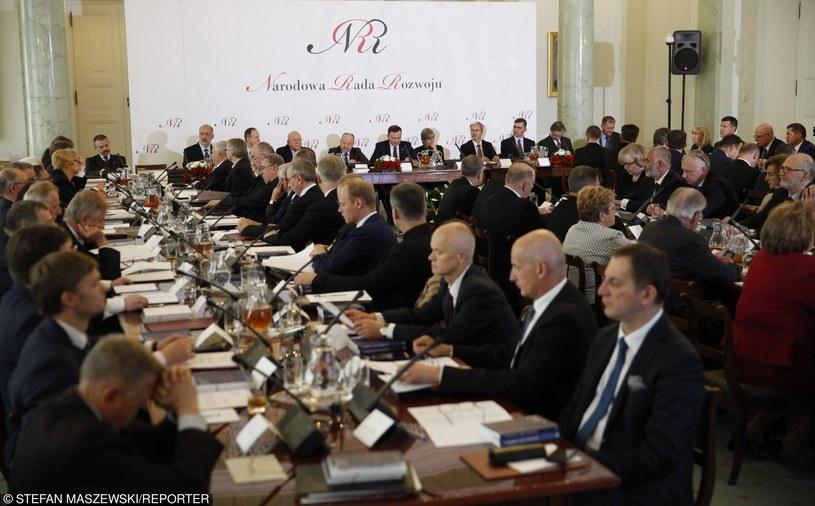 Powołanie Narodowej Rady Rozwoju /STEFAN MASZEWSKI/REPORTER /East News