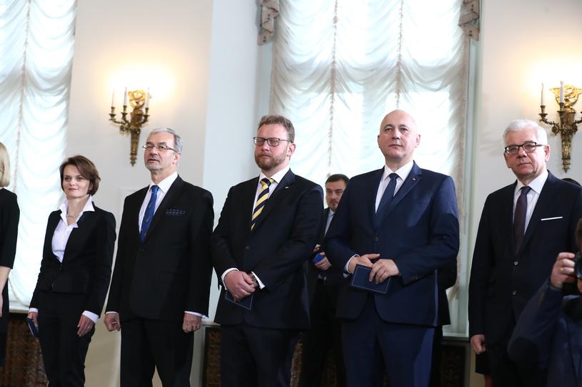 Powołanie nowych członków Rady Ministrów /fot. Andrzej Iwanczuk /Reporter