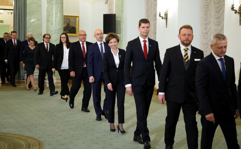 Powołanie rządu Mateusza Morawieckiego /Piotr Molecki /East News