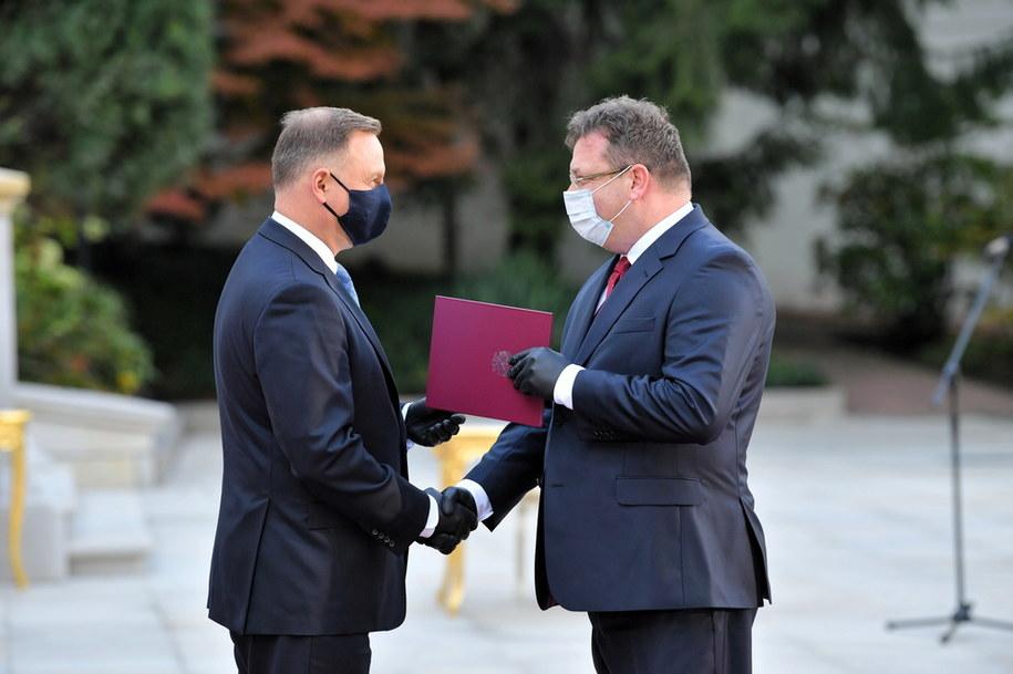 Powołany na stanowisko ministra - członka Rady Ministrów Michał Wójcik / Radek Pietruszka   /PAP