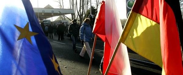 Powrócą wewnętrzne granice wewnątrz Unii? /AFP