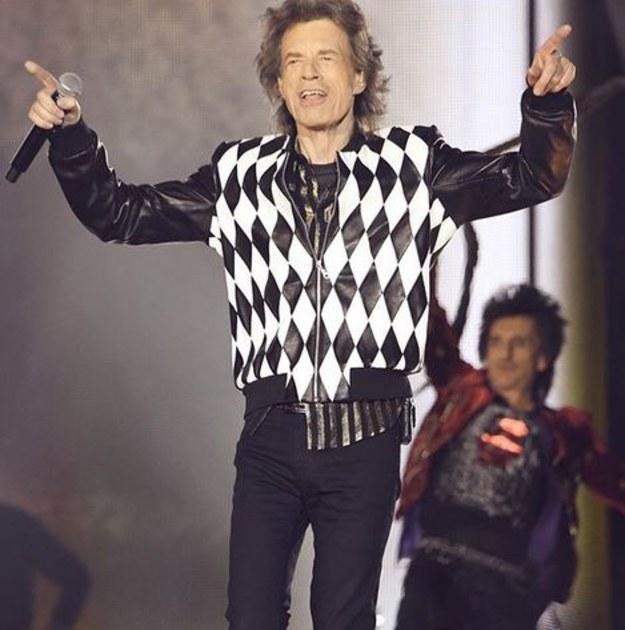 Powrót króla! Mick Jagger na koncercie w Chicago!