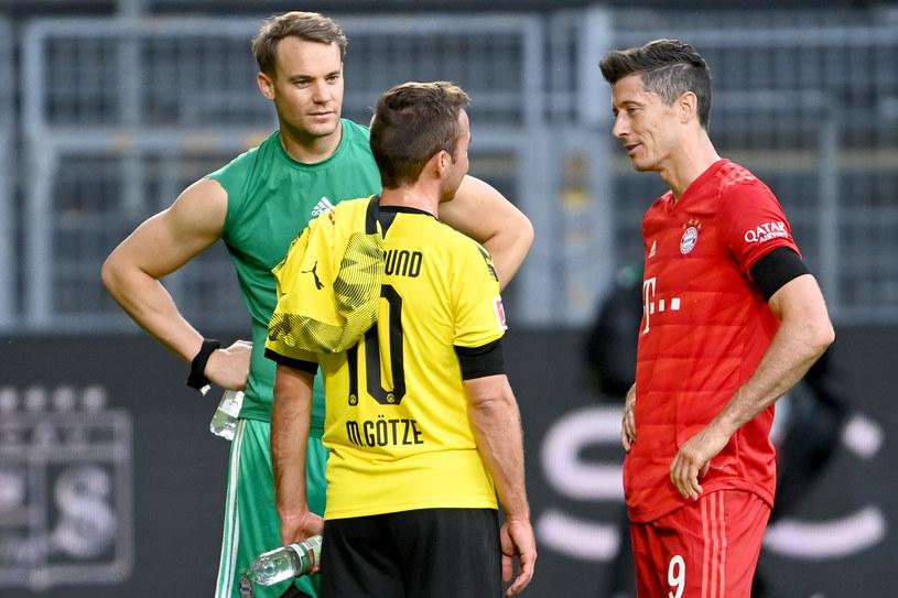Powrót Mario Goetzego był dyskutowany w Bayernie Monachium. Ostatecznie zarząd klubu postawił weto /FEDERICO GAMBARINI  /Getty Images