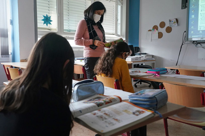 Powrót nauki stacjonarnej. Wszystkie dzieci chodzą od poniedziałku do szkoły / Sean Gallup /Getty Images