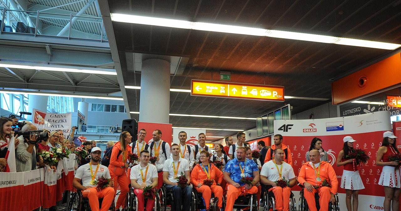 Powrót paraolimpijczyków z igrzysk w Rio de Janeiro