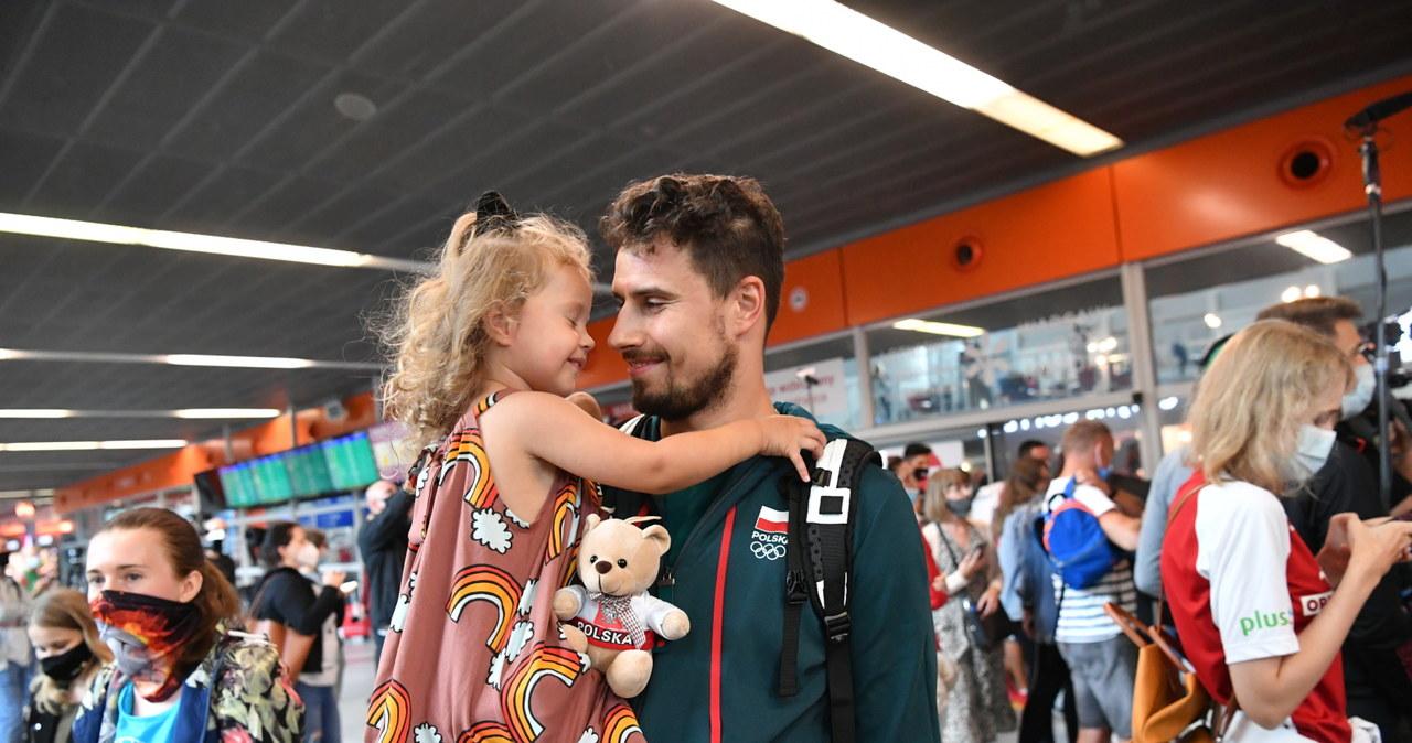 Powrót siatkarzy z igrzysk olimpijskich w Tokio
