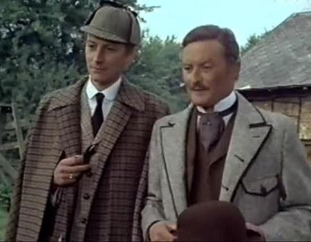 """Powstał najgorszy serial w historii PRL. Strona polska utopiła w nim grube miliony!/ kadr z serialu """"Sherlock Holmes and doctor Watson"""" /materiały prasowe"""