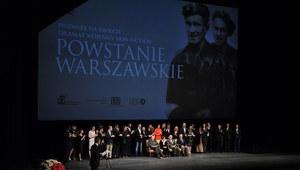 """Powstańcy poruszeni filmem """"Powstanie Warszawskie"""""""