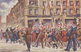 Powstanie wielkopolskie w grafikach Leona Prauzińskiego