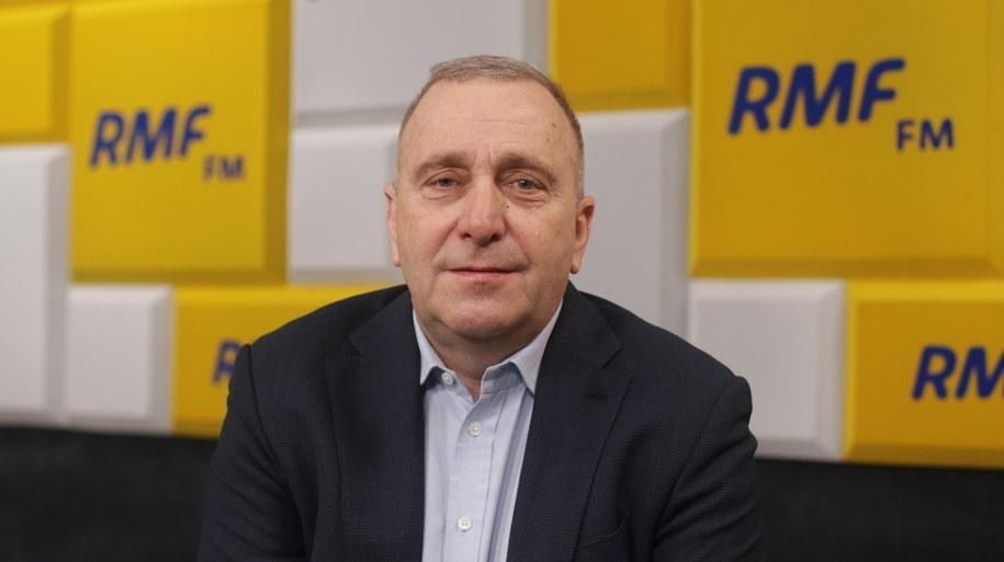 Powyborczy poranek w RMF FM. Gościem Grzegorz Schetyna /Karolina Bereza /RMF FM