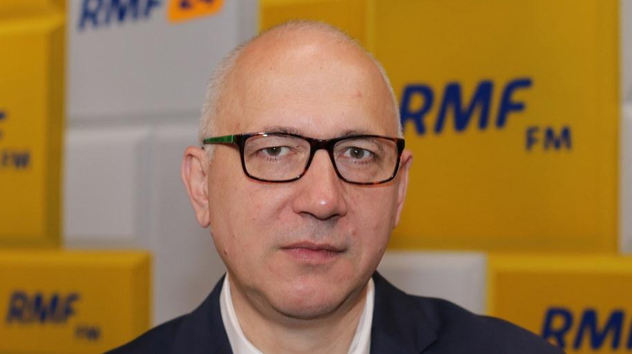 Powyborczy poranek w RMF FM. Gościem Joachim Brudziński /Jakub Rutka /RMF FM