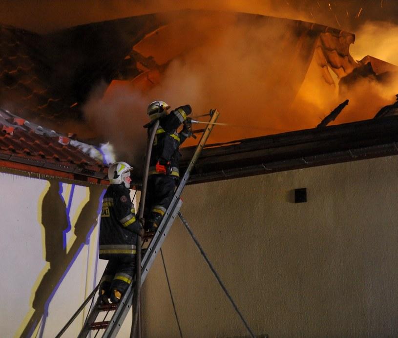Pożar (arch.) /Łukasz Solski /East News