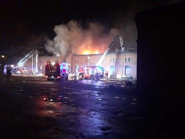 Pożar Banku Żywności w Olsztynie. Straty to nawet 5 milionów złotych