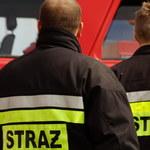 Pożar bloku w Krakowie. Nie żyją 2 osoby