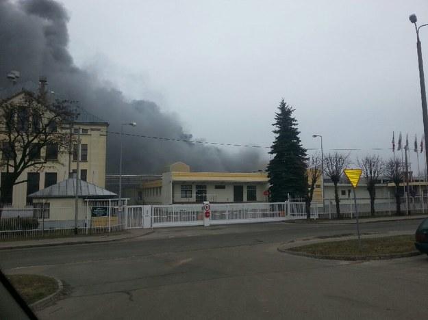Pożar Browaru Namysłów w Braniewie /Gorąca Linia RMF FM - Daniel /Gorąca Linia RMF FM